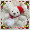 10cm White Christmas Gift Plush Teddy Bears