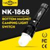 Zoomable 초점과 방수 LED 알루미늄 플래쉬 등 (NK-1868)