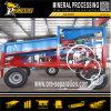 砂鉱の金の採鉱設備の移動式金鉱山のトロンメル機械