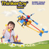 Bloco de apartamentos Toy de DIY Airplane Model Education para Kids