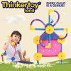 2015 brinquedos plásticos novos da instrução para brinquedos plásticos do bloco dos miúdos