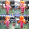 Modèle gonflable des personnages de dessin animé des enfants