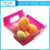 Zolla di plastica della frutta di figura quadrata di Neway