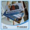 PVC Luggage Tag da fabricação com Clear Plastic Rope