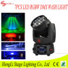 diodo emissor de luz Moving Head Light de 7*12W RGBW 4in1 com Dyeing Effect