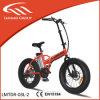 新しいモデルのスマートな電気脂肪質の折るバイク