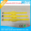 Wristband activo del silicón fino de encargo RFID
