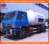 La bombola per gas di Dongfeng 4*2 GPL che riempie il Bobtail trasporta 5mt su autocarro da vendere