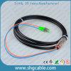 Cordon de connexion optique de fibre imperméable à l'eau de duplex de mode unitaire de FC/APC