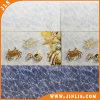 Azulejo de cerámica esmaltado impermeable de la pared del cuarto de baño del mar azul del material de construcción