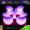 LEDのラウンジチェアを変更するイベント及び党屋外の家具カラー