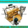 Машина делать кирпича Qt40-3A малая Moving в Замбии
