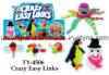 Het grappige Gekke Gemakkelijke Stuk speelgoed van Links DIY
