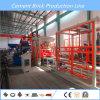 Máquina de fabricación de ladrillo de pavimentación concreta del cemento automático lleno
