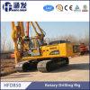 Foreuse rotatoire hydraulique de Hfd850A, équipement civil d'empilage, équipement d'empilage de passerelle