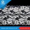 Tissu à extrémité élevé de lacet, tissu métallique de lacet d'or de Guangzhou