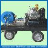 matériel à haute pression de nettoyage d'égout de gicleur diesel de l'eau 200bar froide