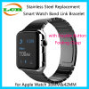 Reemplazo de acero inoxidable Pulsera de Smart Watch Band para el Apple Seguir 38mm y 42mm
