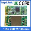 Modulo senza fili ad alta velocità a due bande del USB 433Mbps WiFi di Mediatek Mt7610u 802.11AC 2.4GHz/5GHz per il IP TV