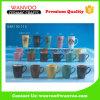 Taza de cerámica del té del café de la etiqueta por encargo del esmalte