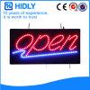 Geöffnetes Zeichen der Hidly Vierecks-Einsparung-Energie-LED