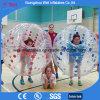 Burbuja humana inflable del juego de la bola del balompié de los juegos transparentes del deporte