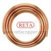 Tubo de cobre del cobre de la bobina de la crepe de la refrigeración