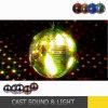 Цветастый свет диско шарика танцульки зеркала для влияния диско
