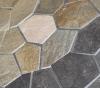 Mosaico rústico de la pizarra del color de la mezcla de la piedra de la mezcla