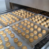 Horno profesional de túnel de acero inoxidable para panadería