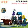 Campo da giuoco esterno della nave di pirata della strumentazione del campo da giuoco dei bambini per il parco di divertimenti