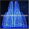 LED 3D Sculpture Motif Light 또는 Outdoor Decoration Light