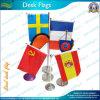 Drapeaux décoratifs de bureau de polyester imprimés par coutume (*NF09M03018)