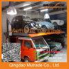 Подъем стоянкы автомобилей столба автомобиля 2 ноги колонки электрического электрического гидровлического мотора Mutrade верхнего сегмента на двух уровнях