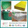 Cerca de alambre soldada cubierta PVC verde Qym-Curvada