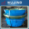 Exploitation Equipment High Manganese Steel Casting Mantle et Concave Spare Partie pour Crusher