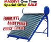 Calentador de agua solar de energía solar del acero inoxidable de la Sistema Solar del colector termal solar