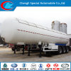 Tri-Axle 21 Ton GPL Gas Transport Trailer con Sunshade Insulation