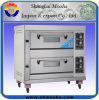 Oven van het Dek van het Gas van de Lagen van de Machine van de Apparatuur van de bakkerij de Dubbele
