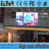 Pantalla de visualización de interior de LED P6 del centro comercial