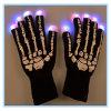 Luvas feitas malha mágica de piscamento do diodo emissor de luz da alta qualidade para Halloween/Hallowmas