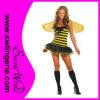 Traje sexy da abelha de rainha do carnaval