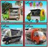 Carrello di vendita del hot dog/carrello mobile dell'alimento per la vendita e la visualizzazione calde dell'alimento