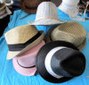 밀짚 다채로운 모자 서류상 밀짚 모자 카우보이 밀짚 모자