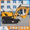 La Cina zappatore dell'escavatore 800kg del cingolo del mini escavatore da 0.8 tonnellate piccolo da vendere