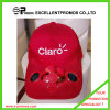 Cheap al por mayor Solar Fan Cap Hat con Logo Custom (EP-C7071)