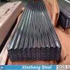 La hoja acanalada galvanizada, cubre con cinc la hoja galvanizada revestida para Roofig
