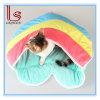 Saco de sono do gato da venda quente do inverno/casa Heart-Shaped macios confortáveis mornos da base/animal de estimação
