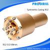 Cubierta recuperable 114m m del sistema de Symmetrix para el martillo DHD 3.5 de DTH