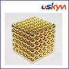 Bolas magnéticas de ouro Buckyballs (T-011)